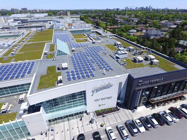 Solar panels help retailers tap into savings