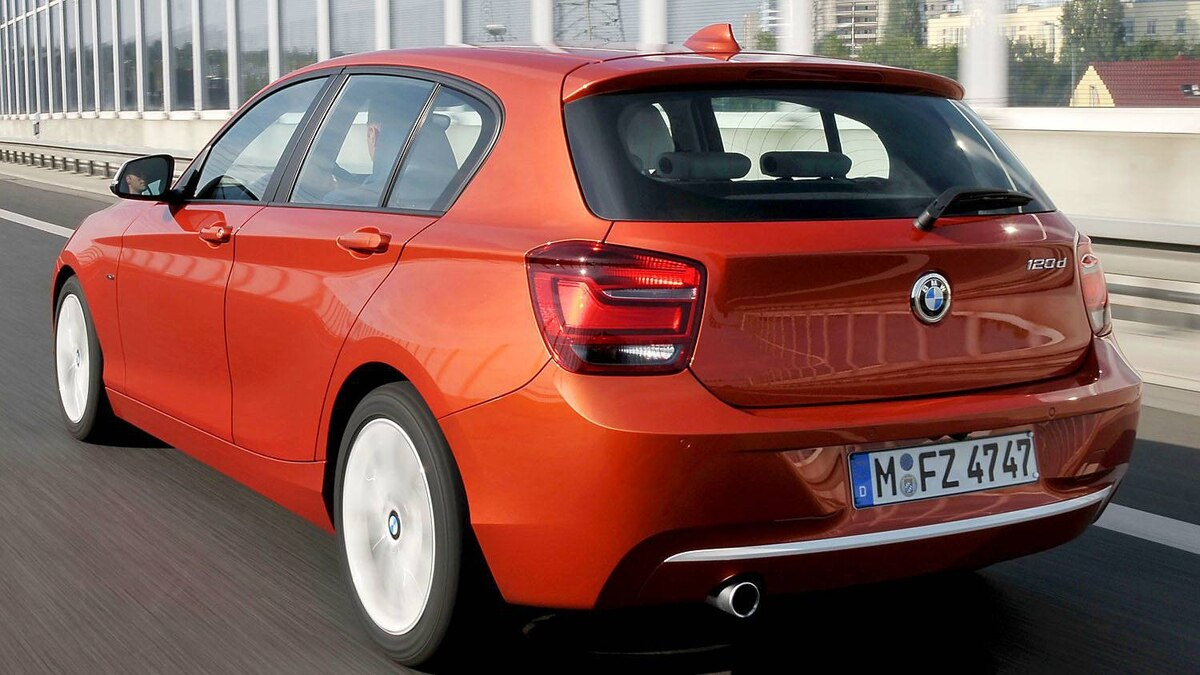 The BMW 1-Series hatchback with a diesel engine is not available in Canada
