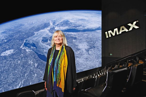 Imax filmmaker Toni Myers worked with rock stars and astronauts