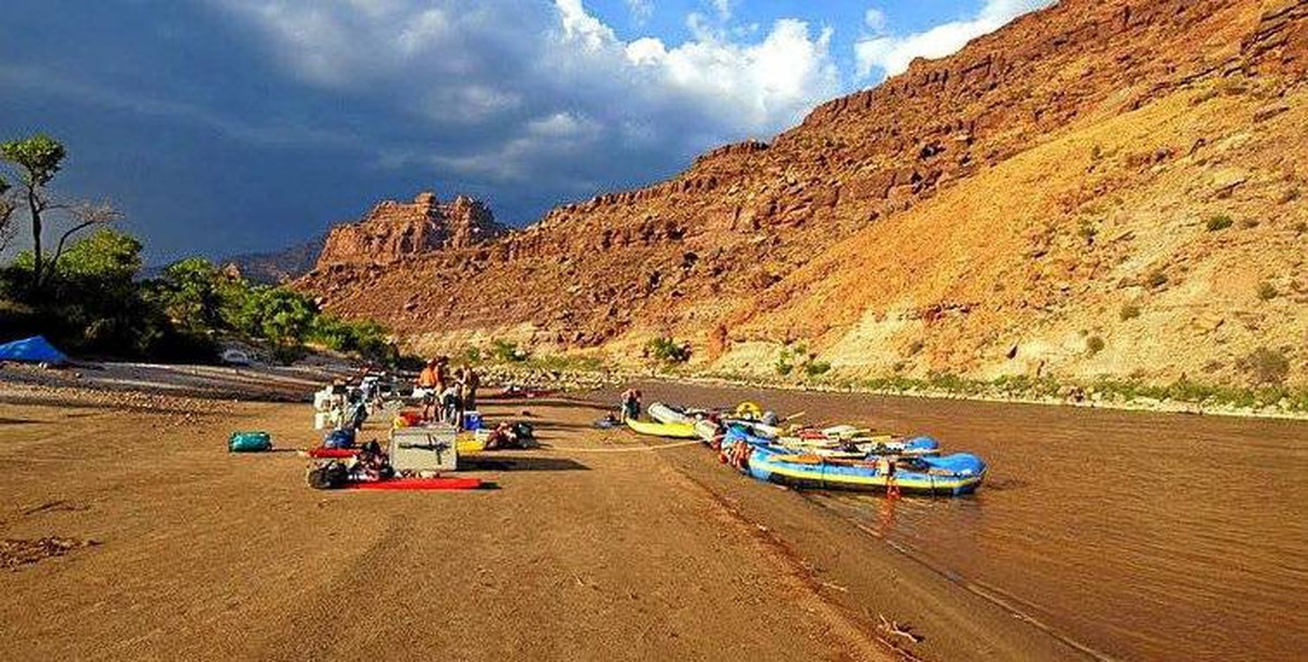 """This summer Dvorak's Expeditions is offering a """"Kids Go Free"""" promotion on its week-long Green River rafting trip that follows the path of Butch Cassidy?s Wild Bunch"""