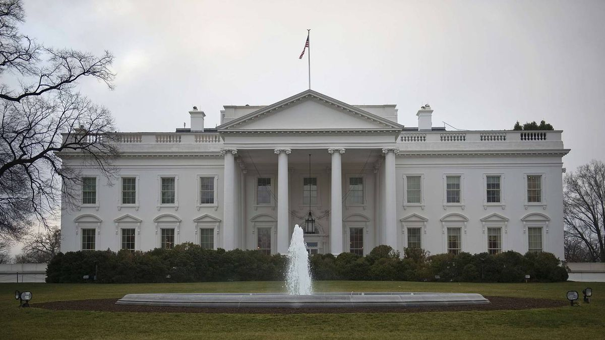 A general view of the North Lawn of the White House in Washington January 24, 2012.