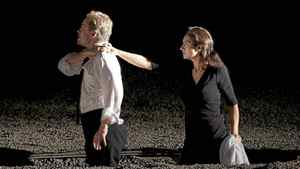 """Lawrence Zazzo as Orfeo and Isabel Bayrakdarian as Euridice in the Canadian Opera Company production of """"Orfeo ed Euridice"""""""