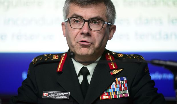 Second-in-command of Canadian Forces to resign, cites aborted plan to replace him with Norman