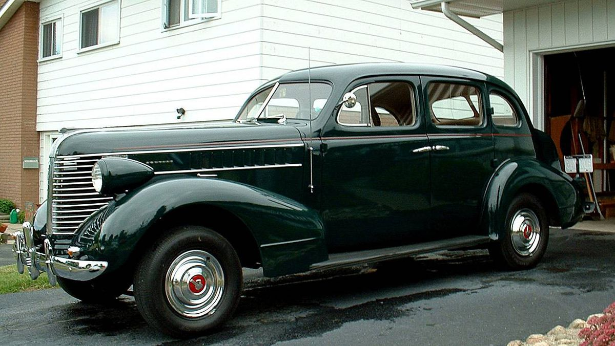 """1938 Pontiac: Although this wasn't my """"first"""" car, it was certainly my most cherished and the one into which I put the most blood sweat and tears."""