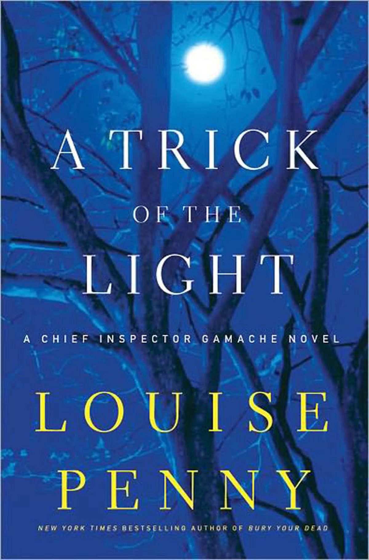 A TRICK OF THE LIGHT By Louise Penny, Minotaur This tightly plotted story takes Quebec's Chief Inspector Armand Gamache to new heights. Penny's best ever.