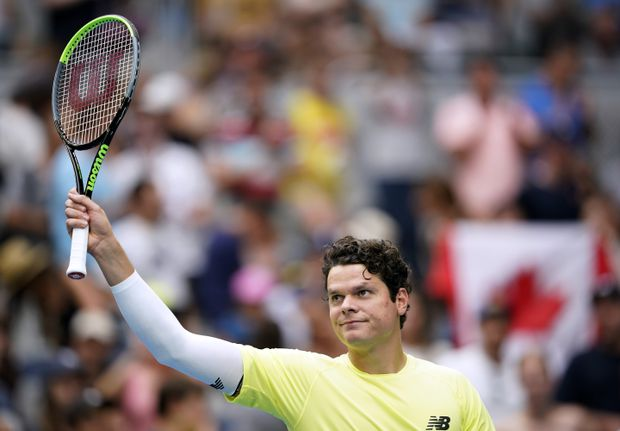 Canadian Milos Raonic advances to third round at Australian Open
