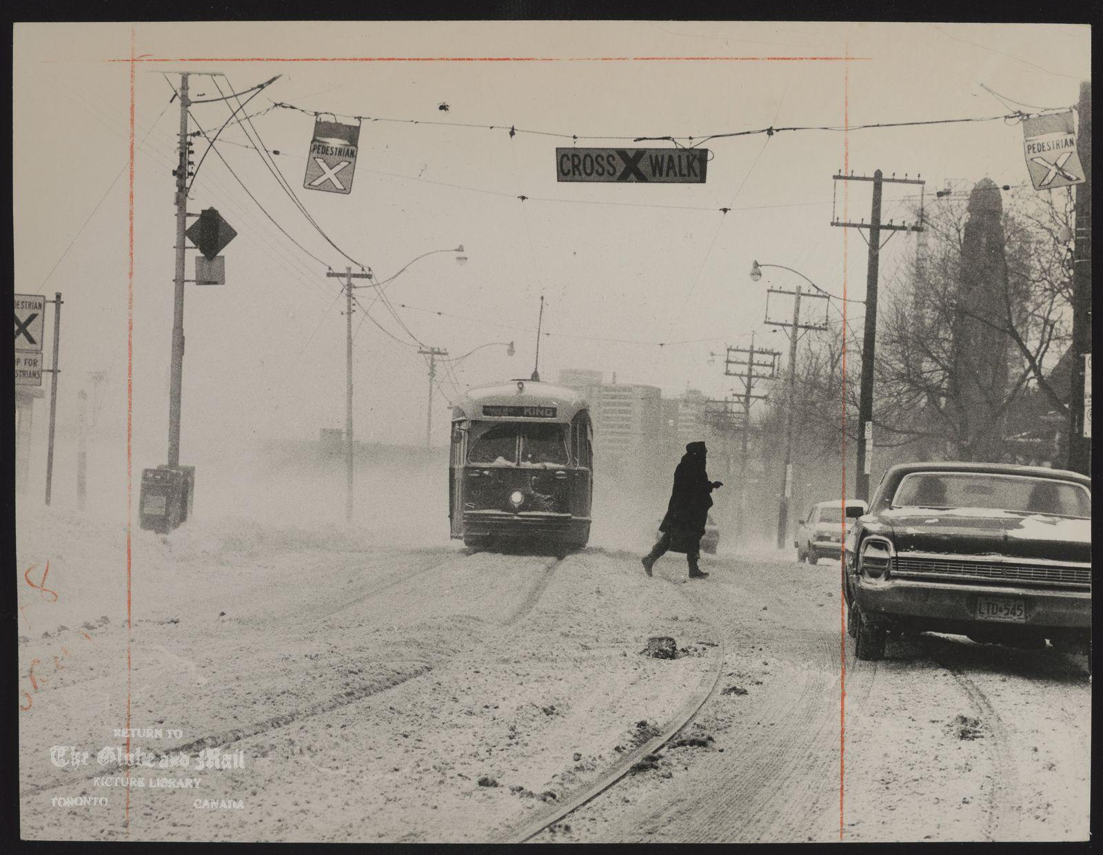 SNOW Broadview Avenue in Toronto