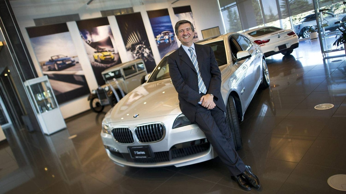 Eduardo Villaverde, CEO of BMW Group Canada, at the company's offices in Richmond Hill, Ont. Luxury auto makers are seeing a boom in sales in Canada.