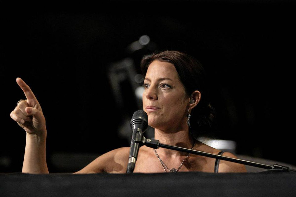 Singer Sarah McLachlan rehearses for her new album and upcoming Lilith concerts in Vancouver.