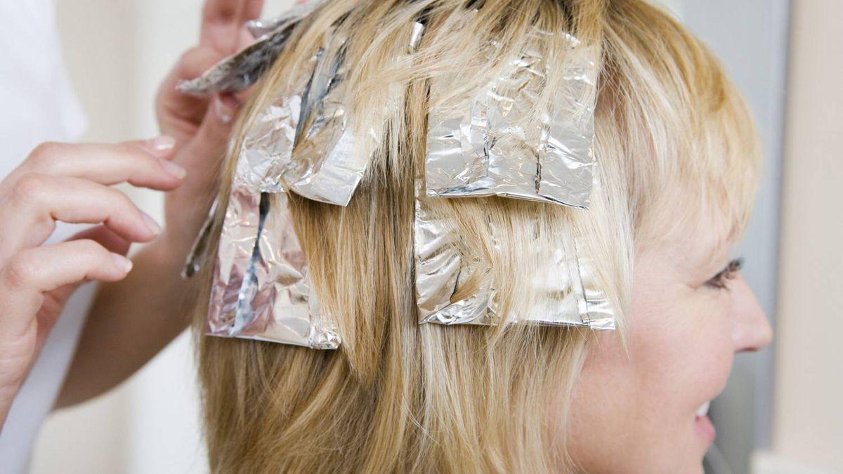 Технология колорирования волос пошаговое фото