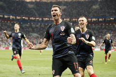 cfc9625d1 Exhausted Croatia must draw on reserves for World Cup final against France