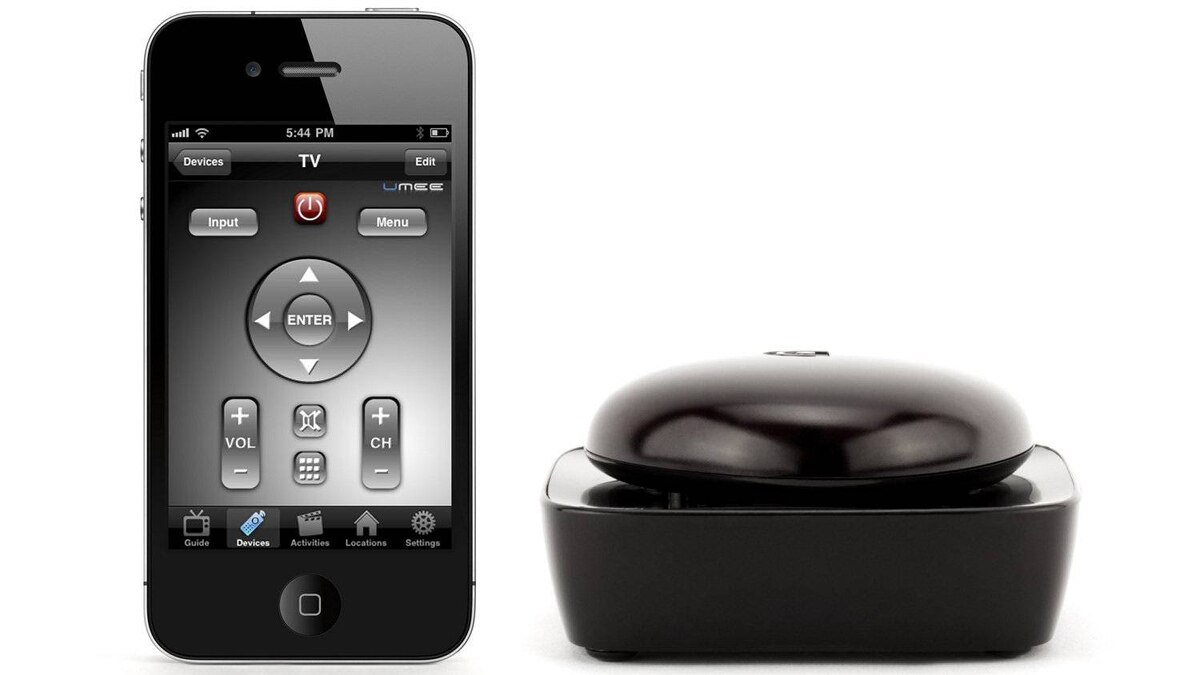 Griffin's Beacon Universal Remote Control is available online and at Apple Stores for $69.95. Before buying, take note that separate Beacon systems exist for iOS and Android devices. Which is a disservice to households that don't fall neatly into a single mobile OS camp (like mine).