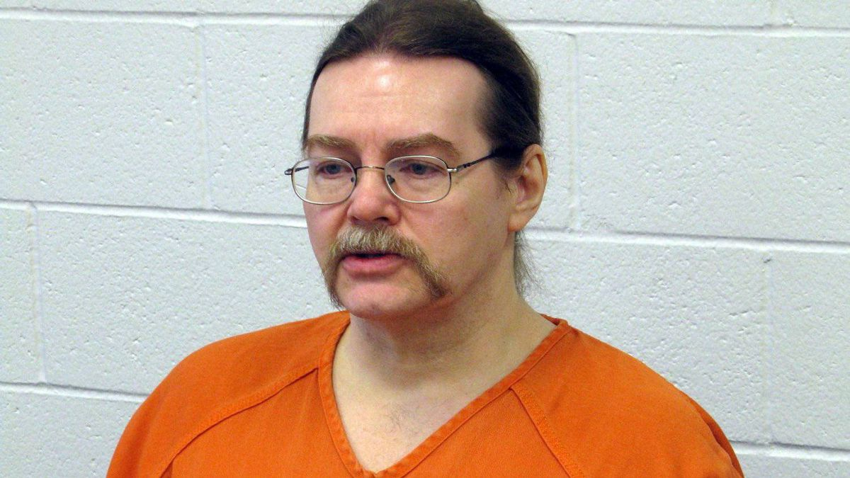 Ronald Smith, the only Canadian on death row in the United States. is shown at the state prison in Deer Lodge, Montana, Wednesday, Feb. 22, 2012. Smith will appear before a clemency hearing in May.