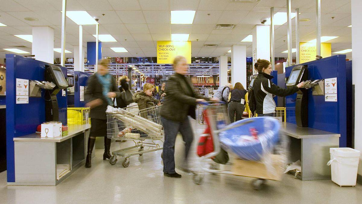 Ikea store in Toronto, Ontario