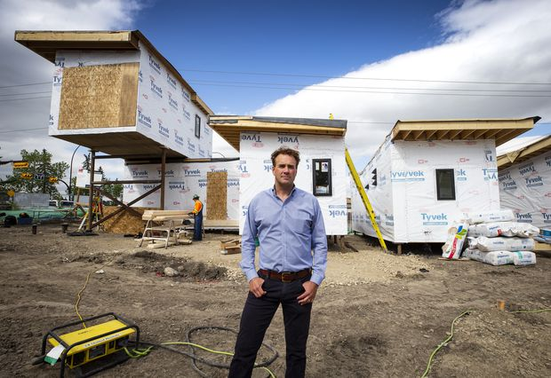 Project aims to give homeless veterans a roof over their heads and a supportive community