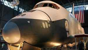 Nasa announced Tuesday that the space shuttle Enterprise will go to New York's Intrepid Sea, Air and Space Museum for display in a glass enclosure on a Manhattan pier.