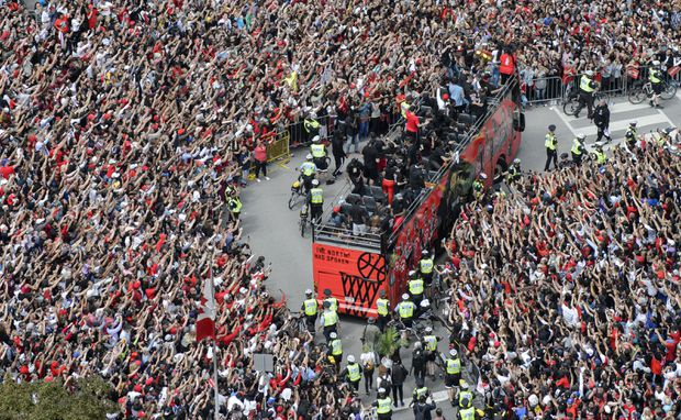 The Raptors' victory parade was more than a celebration – it was a glimpse of today's Canada