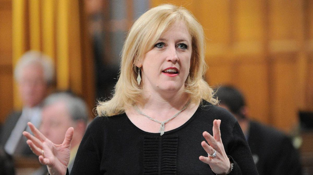 Labour Minister Lisa Raitt responds to a question during Question Period in the House of Commons this week.
