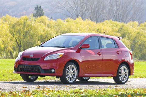The Toyota Matrix is practical, reliable     and soon to be