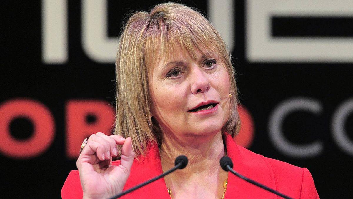A February 2011 file photo of Carol Bartz
