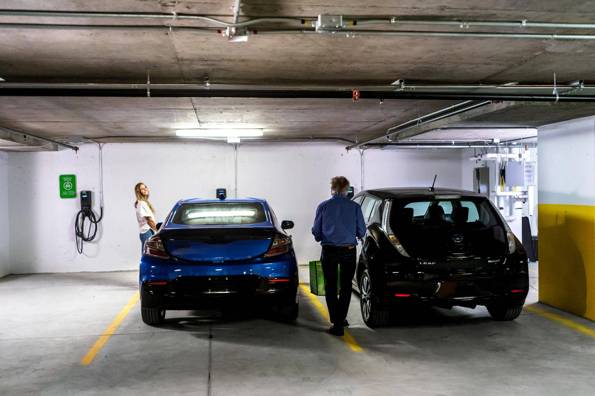 Condos Grling With Demand For Electric Car Charging Stations