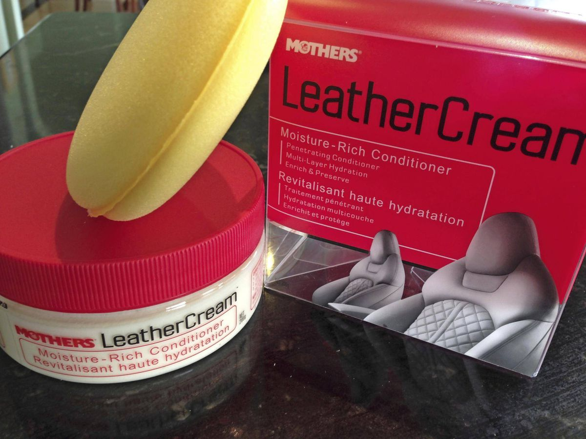 this cream is a dream treat your car 39 s leather seats to a 39 spa day 39 the globe and mail. Black Bedroom Furniture Sets. Home Design Ideas