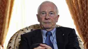 Governor-General David Johnston speaks sits for an interview at Rideau Hall on October 15, 2010.