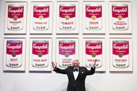 The Andy Warhol Foundation for the Visual Arts, Inc. / SODRAC (2017). Photo courtesy of the AG (yes include all)