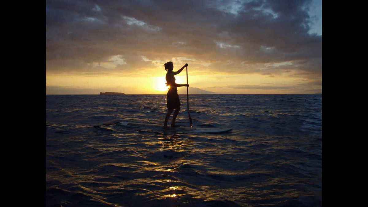 stand up paddleboard goddess in maui