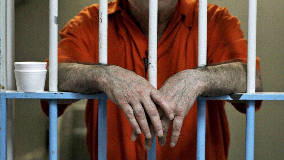 An inmate bides his time at a Toronto jail on Feb. 24, 2011.