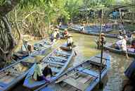 A water taxi ride down the Mekong Delta is the closest experience on Earth to a trip down the River Styx.