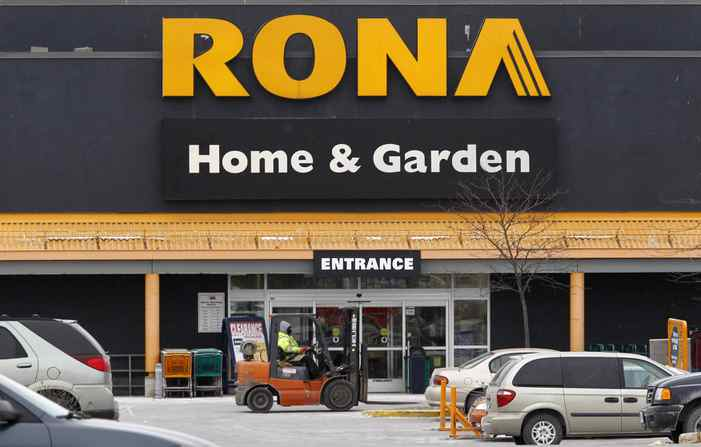 A Rona store is pictured in Ottawa February 24, 2011.
