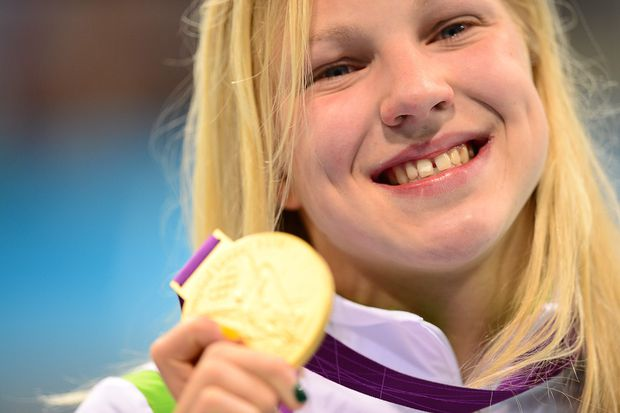 Former Olympic swimming champion Ruta Meilutyte retires at 22