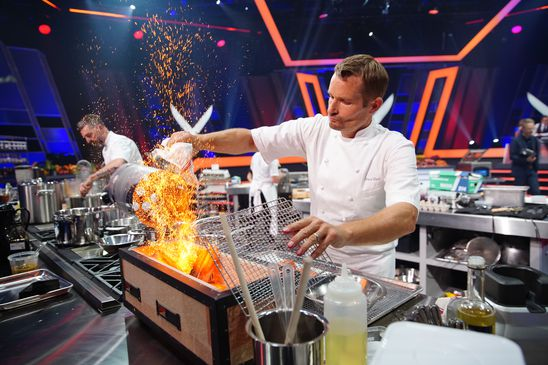 A peek behind the Iron Chef curtain