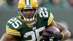 Green Bay Packers running back Ryan Grant breaks away from Oakland Raiders defensive back Mike Mitchell (not pictured) for a 47-yard touchdown run during the first half of an NFL football game Sunday, Dec. 11, 2011, in Green Bay, Wis. (AP Photo/Mike Roemer)