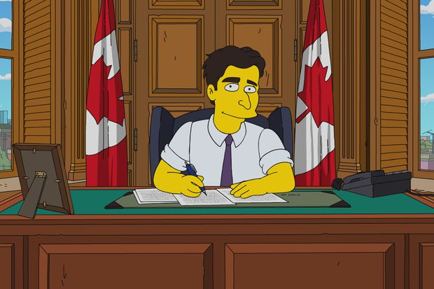 Trudeau to be portrayed on Canadian-themed episode of The Simpsons