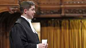 Speaker Andrew Scheer addresses the House of Commons on Dec. 15, 2011.