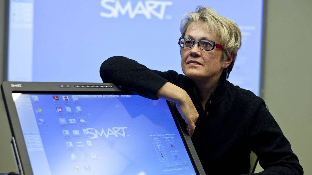 Nancy Knowlton is president and CEO of Calgary-based Smart Technologies, which created the world's first interactive white board in 1991.