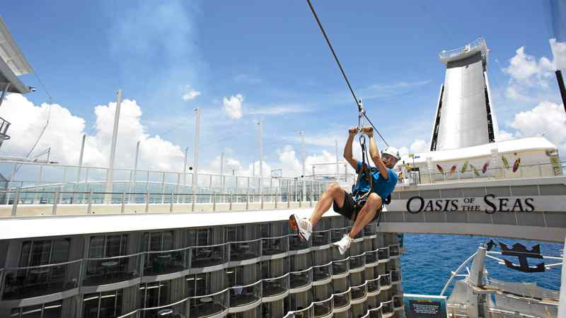 Singlescruise.com offers an over-40 cruise excursion on the Royal Caribbean Oasis of the Seas.