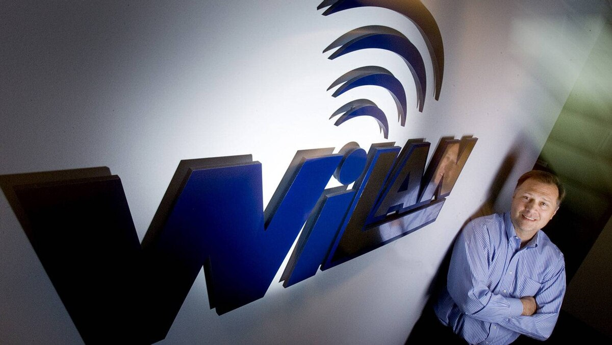 File photo of Jim Skippen, CEO of Wi-LAN.