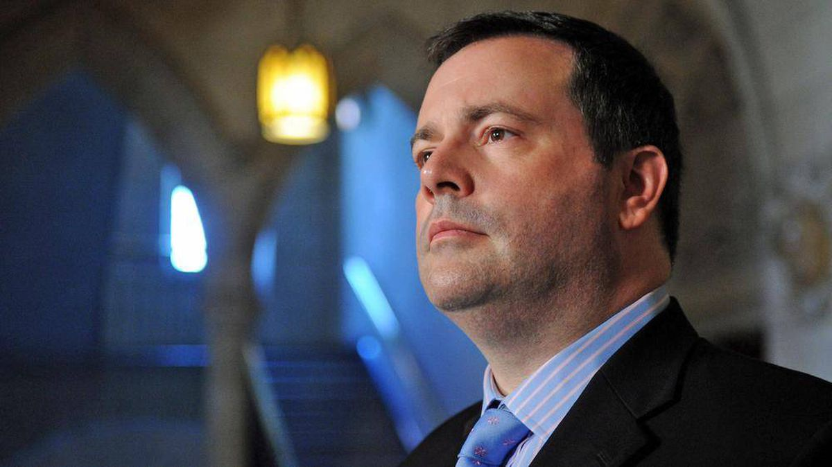 Immigration Minister Jason Kenney speaks to reporters in the foyer of the House of Commons on May 30, 2012.
