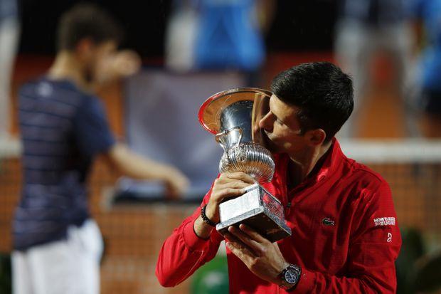 Novak Djokovic Wins Italian Open Putting U S Open Default Behind Him The Globe And Mail