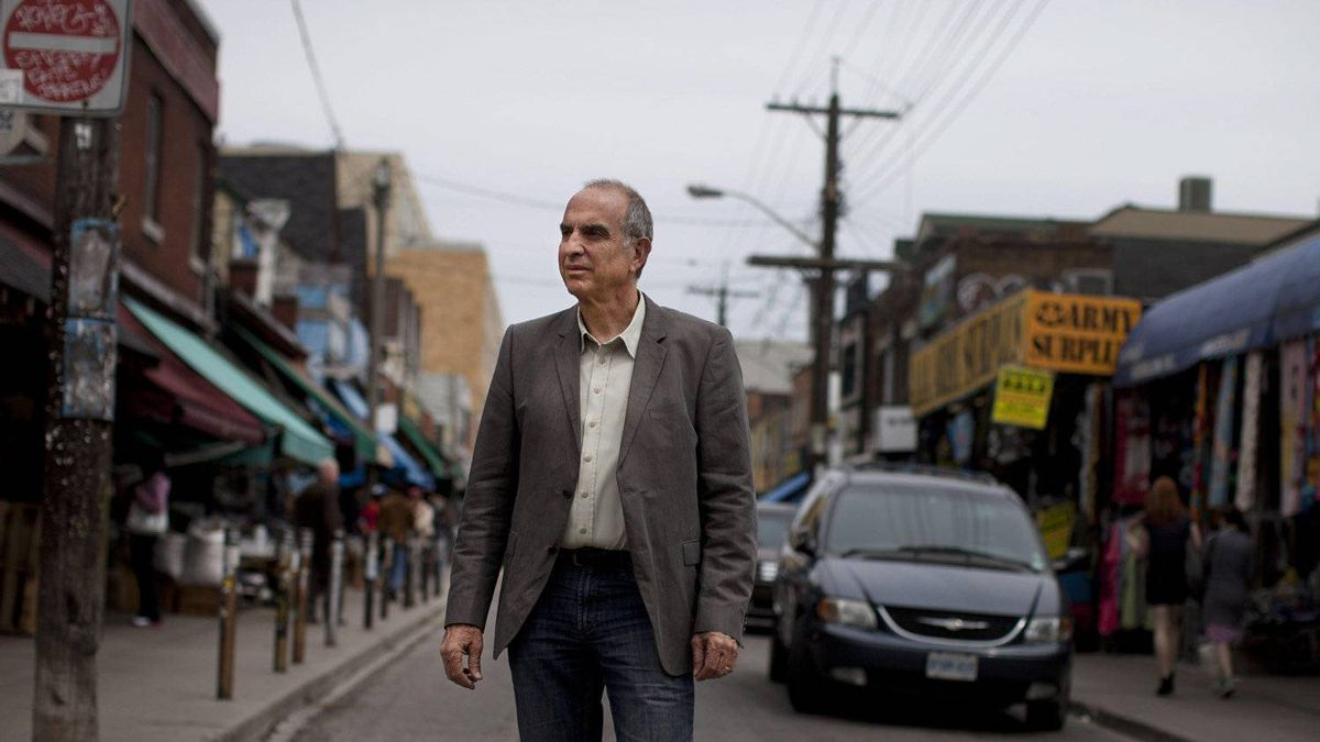 Ken Greenberg, author of a new book 'Walking Home' and one of the world's foremost urban designers, shares his passion and methods for rejuvenating neglected cities. He is photographed in Toronto's Kensington Market May 10, 2011.