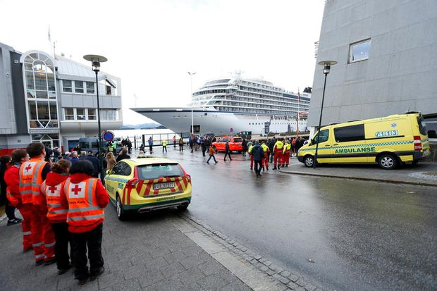 Norway opens investigation into why cruise ship set sail despite storm warnings