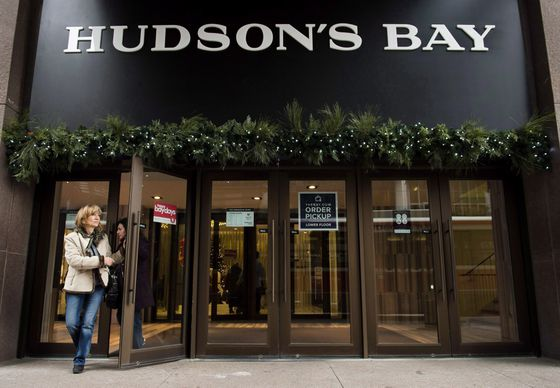 Hudson's Bay pursues deal with Barneys New York bidder