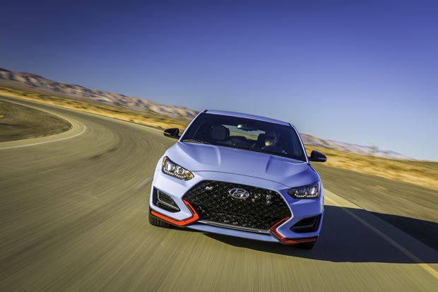 Review: Hyundai Veloster N heats up the hot hatchback