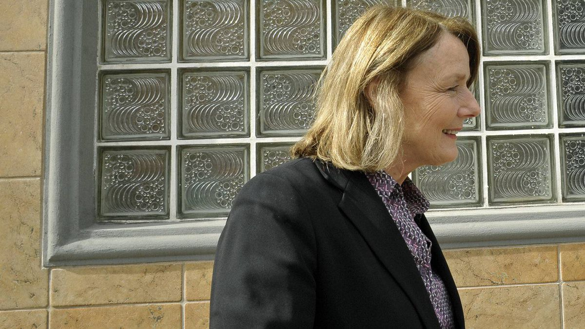 NDP finance critic Peggy Nash, shown campaigning in her Toronto riding on April 29, 2011, calls the Conservatives 'out of touch.'