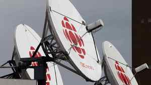 Satellite dishes sits on the roof of one of the CBC studios in Halifax on Wednesday April 4, 2012.