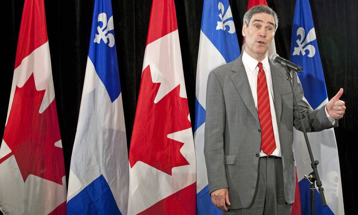 Speaking in Montreal, Michael Ignatieff responds to a question about Stephen Harper's suggestion he's plotting to form another coalition with 'socialists and separatists.' The Liberal Leader replied that he could have been prime minister, 'but I turned it down.'