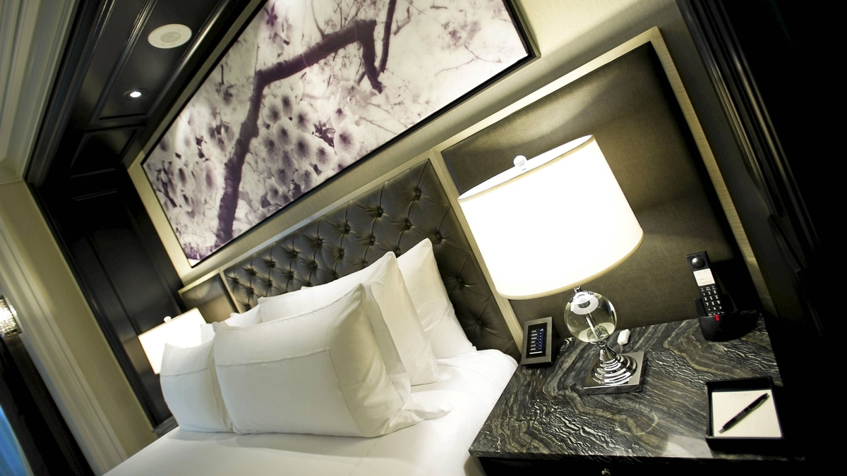Interiors of the new 65-storey Trump International Hotel and Tower